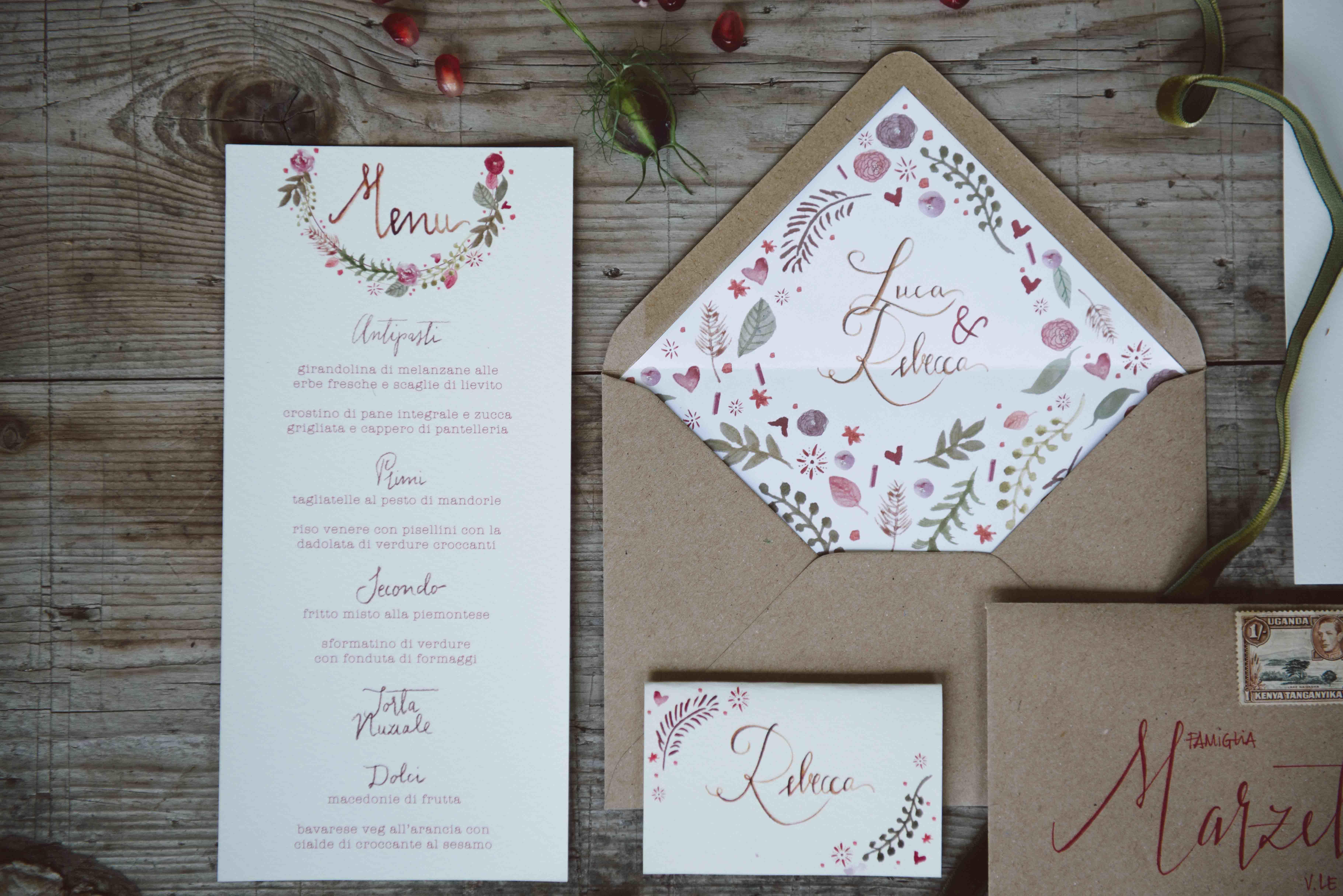 Preferenza interno-busta-matrimonio-invito-nozze - Studio Alispi HU47