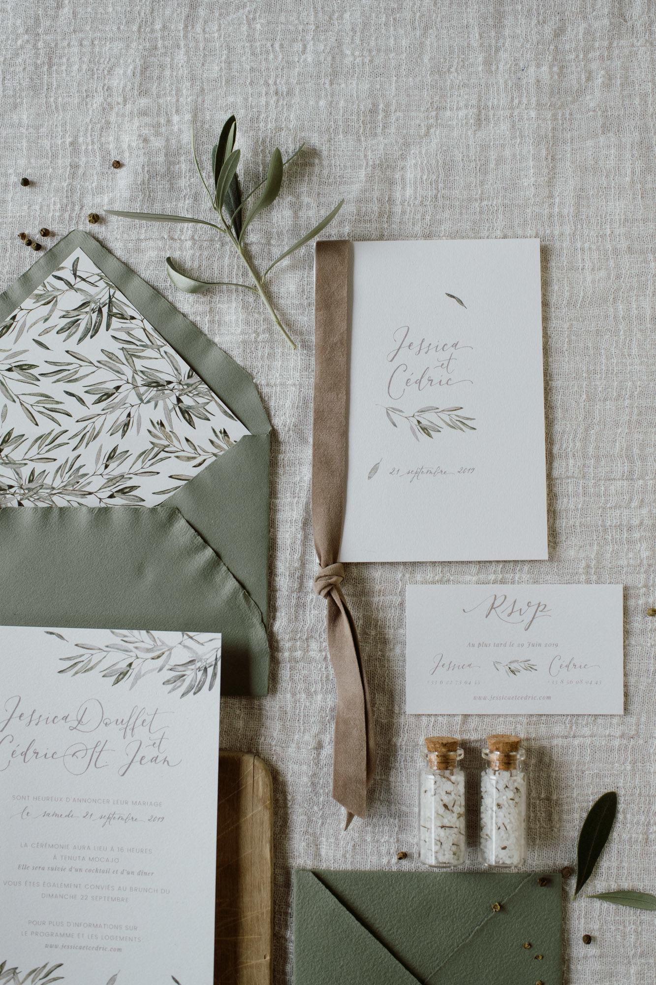 Busta Matrimonio Toscana : Partecipazioni calligrafia inviti matrimonio toscana ulivo 3